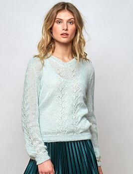 159-09 V-genser med mønster