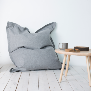 2ME Home OEKO-TEX ® - a classic bean bag for cozy moments